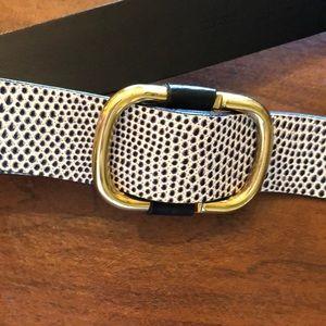 Jcrew leather belt